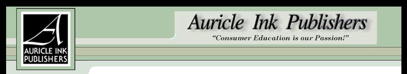 Auricle Ink Publishers - Consumer education is our passion